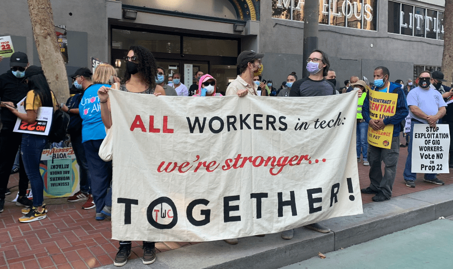 All workers in tech: we're stronger together!